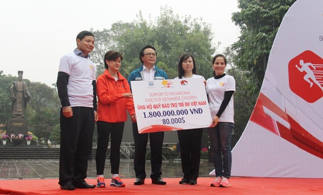 Additional 1.8 billion VND to support mountainous children in Tuyen Quang
