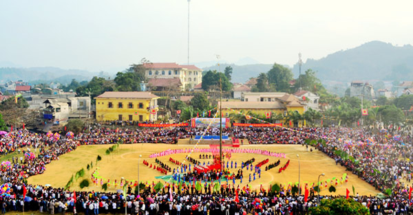 Lồng Tồng festival - A unique cultural shade of Tày ethnic group in Tuyên Quang province