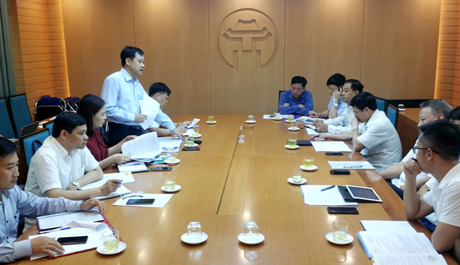 Tuyen Quang leaders meet Hanoi Peoples Committee to plan on organizing Tuyen Quang Cultural Day