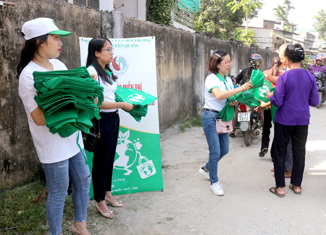"Launching campaign ""Make the planet a cleaner place"""